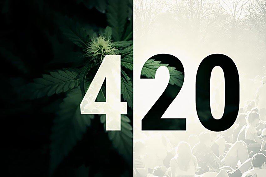 Kod 420, Kulturze, Użytkowników, Marihuany, Cannabis, 4/20, Data, Palacze, Palą,