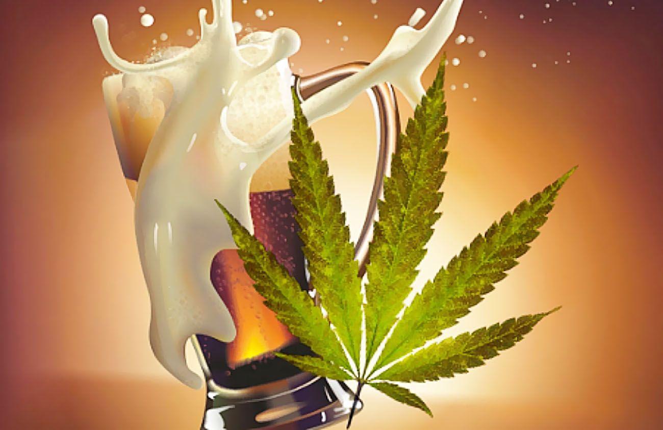 Legalizacja, Marihuany, Konopi Indyjskich, Cannabis, Spadek, Sprzedaży, Alkoholu, Alkoholowych, Trunków